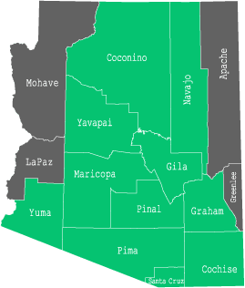 Availability by County in Arizona