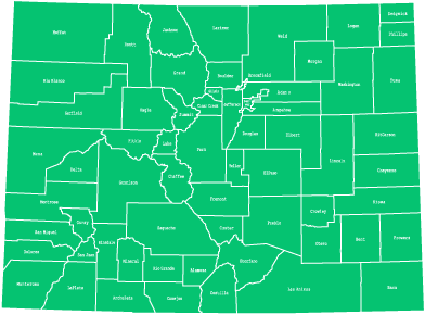 Availability by County in Colorado