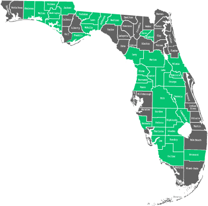 Availability by County in Florida