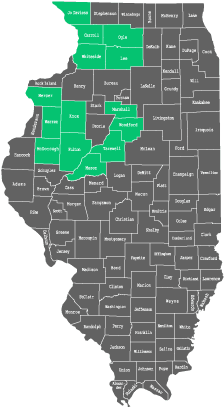 Availability by County in Illinois