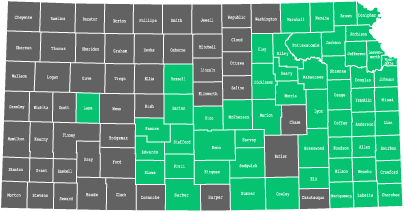 Availability by County in Kansas