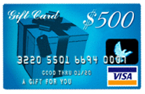 Image of $500 VISA gift card