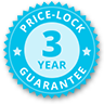 3 year price lock